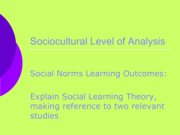 SCLOA_files/SLO5 Explain Social Learning Theory