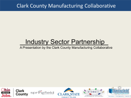 The Ohio Manufacturing Collaborative