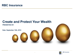 RBC Insurance | Create and protect your wealth