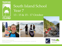 Please click here to Y7 Camp 2014 Information