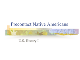 Precontact Native Americans