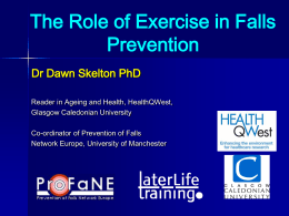 PPT presentation - Later Life Training