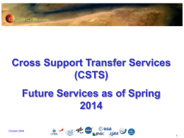 CSTS Future Services - CWE