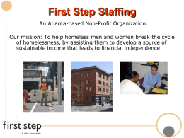 First Step Staffing