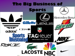 The Big Business of Sports