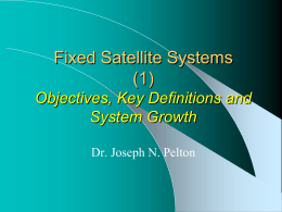 Fixed Satellite Services