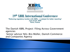 DanishXBRLProject - XBRL Conference Archives