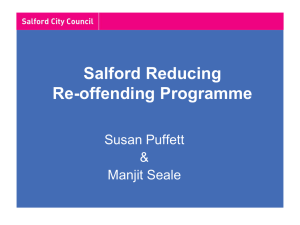 Offenders - Salford City Council