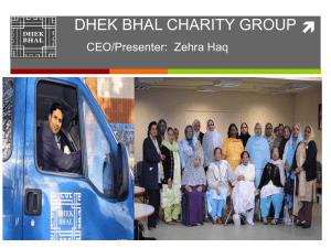 DHEK BHAL CHARITY GROUP