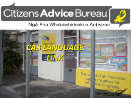 CAB Language Link - Immigration New Zealand