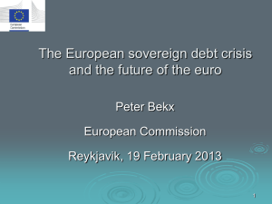 Here you can find the slides of Mr. Bekx from the meeting