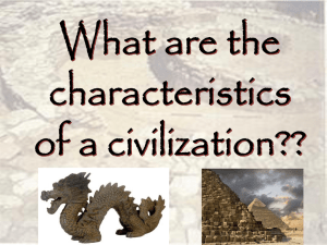 8 Features of Civilization PPT