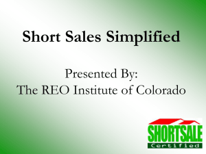 The REO Institute of Colorado