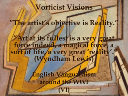 Vorticist Visions