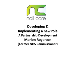 Nail Care (S4H 3) 5th March 2014