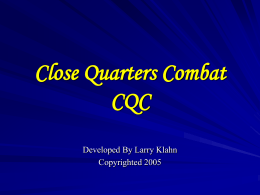 CQC Power - Three Rivers Martial Arts