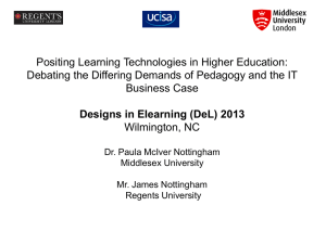 positing_learning_technologies_in_higher_education