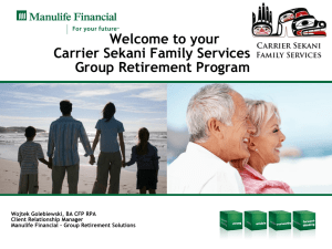 Your statement - Carrier Sekani Family Services