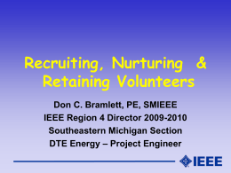 IEEE Volunteers Presentation PPT