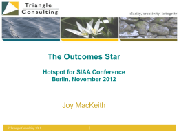 The Outcomes Star