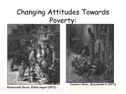 Attitudes to Poverty - Coatbridge High School