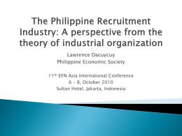 Strategic Recruitment and Retention October 2010