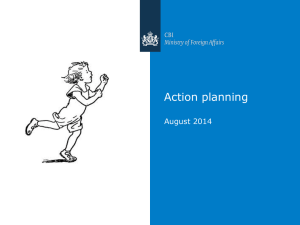 Action planning 2014