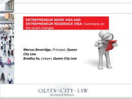 PPT - Queen City Law