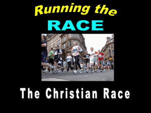 Running the Race - Radford Church of Christ