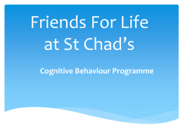 Friends for Life - St Chads Catholic Primary School