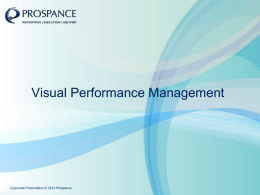 the PPT Visual Performance