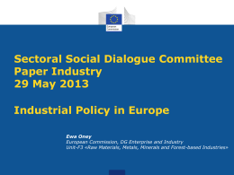EU Industrial Policy
