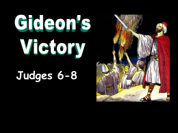 Gideon`s Victory - Radford Church of Christ