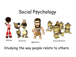 Social Psychology PowerPoint