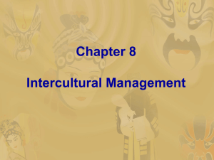 Chapter 8 Intercultural Management