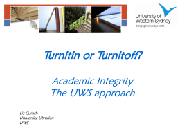 Turnitin or Turnitoff?
