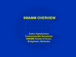 Eghobamien9WAMM_Overview_-_Presentation_for_PF_Opening