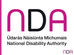 NDA Consultation on Commissioning of Disability Services