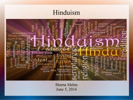 Hinduism - Death and Dying