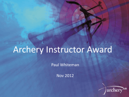 day 2 - Archery GB