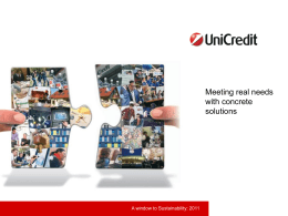 Our Customers - UniCredit Group