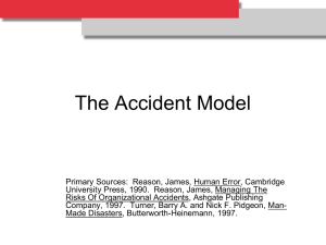 The Accident Model 726KB Sep 20 2013