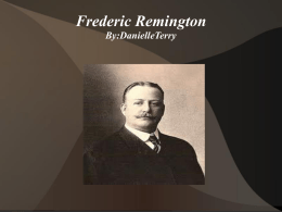 Frederic Remington - Menifee County Schools