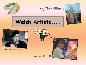Welsh Artists of the 20th Century……..