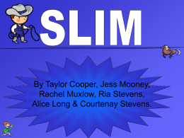 Slim - St James School