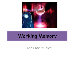 Working memory model- Ref Psych-exchange