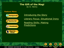 Gift of the Magi