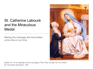 St. Catherine Labouré and the Miraculous Medal