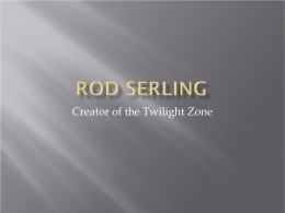 Rod Serling - WordPress.com
