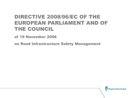 PowerPoint Presentation - Road Safety Audit - Vej